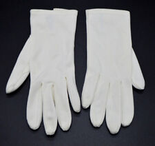 White NYLAVA D ALTMAN and CO Gloves Vintage Size 6