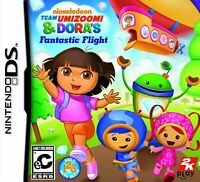 Nickelodeon Team Umizoomi & Dora's Fantastic Flight - Nintendo DS [video game]