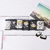 Cuttable Cartoon Animal Panda Eraser Pencil Erasers School Stationery Supply HU