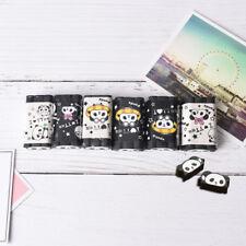 Cuttable Cartoon Animal Panda Eraser Pencil Erasers School Stationery Suppl