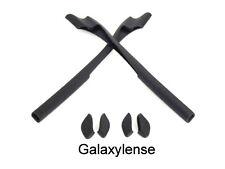 Galaxy Earsocks & Nose Pads Rubber Kits For Oakley Half Jacket 2.0/2.0 XL Black