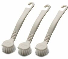 3 x ADDIS DISH WASHING UP POT BRUSH - LINEN 510289