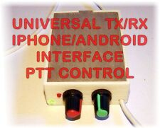 Universal Iphone/Android Digi Interface with PTT-PSK,PSK31,RTTY,SSTV,etc