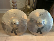 zildjian k Custom Session Hihats