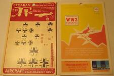 WW2 His Air Dec 1:72 Scale Croatian: BF (ME) 109G-2 by Airfix Decals