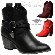 Rocket Dog Mid Heel (1.5-3 in.) Slip On Boots for Women