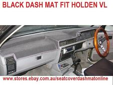 DASH MAT, DASHMAT, DASHBOARD COVER FIT HOLDEN VL 1986 - 1987, BLACK