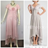 NWT LAN TING BRIDE A-line size 10 Mother of the Bride Dress Floral Lace Formal
