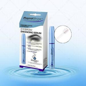 NEW & SEALED RapidLash - RapidBrow EyeBrow Enhancing Serum 3 mL ( 0.1 Fl Oz )