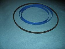 2 BLUE MAX BAND SAW TIRES AND DRIVE BELT FOR CRAFTSMAN 113.243311 BAND SAW