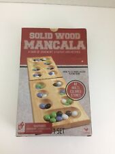 Cardinal  Industries Solid Wood Mancala Folding Game Board