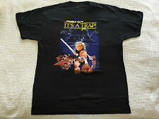 Family Guy: Its a Trap Black T-Shirt (Large) *New & Sealed*