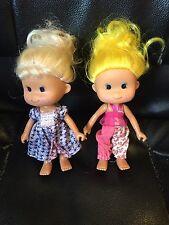 "Lot Of 2 Greenbrier International Inc Small Toddler Dolls 5 1/2"""