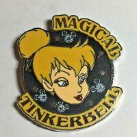 Disney Pin Badge Magical Tinker Bell HKDL