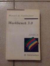 Manuel WORKBENCH 3.0 en français pour ordinateurs AMIGA