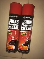 2 x 200ml Spider & Creepy Crawly Insect Killer Spider Spray No More Spiders,,,,