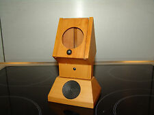 Alessi Twergi  pear-wood match holder CO1660 =RARE=