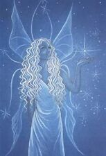 Jessica Galbreth Fairy of Truth Limited Edition Signed Print 11x17 Blue Wings