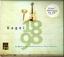 Mauricio KAGEL 1898 & Music Renaissance Instruments Collegium Instrumentale CD