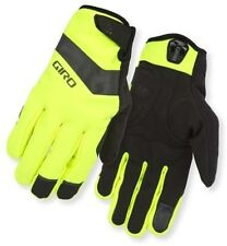 Giro Ambient Soft Shell Cycling Gloves 2016 Highlight Yellow S