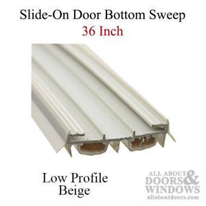 Slide-On 36 Inch Door Sweep / Door Bottom - for Taylor Doors Only