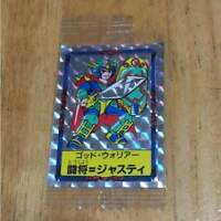 God Warrior Clash Attorney Justy Seal trading card Vintage rare from JAPAN