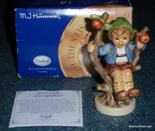 """Apple Tree Boy"" Goebel Hummel Figurine #142 4/0 TMK8 1st Issue With Box!"