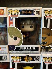 Pop! Rocks: Def Leppard - Rick Allen (In Stock!) Vinyl Figure