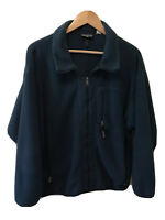 Vintage Patagonia Mens Full Zip Fleece Synchilla Zipper Blue Green Jacket XL