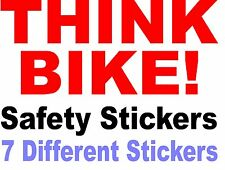 Think Bike Safety Stickers