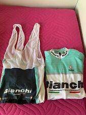 Completo estivo ciclismo Bianchi Nalini Reparto Corse ORIGINALE Taglia M