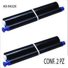 2 TTR COMPATIBILI PANASONIC KX-FA52X PER Panasonic KX FP205JT, KX FP205JT-S