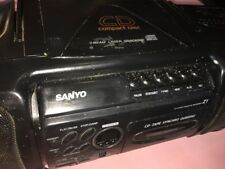 sanyo mcd-z1 cd stereo cassette and recorder