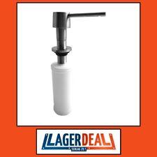 Einbauseifenspender für Arbeitsplatte matt 55x275x130mm Edelstahl Badartikel Bad