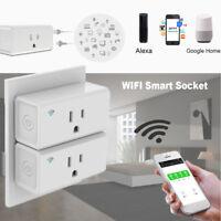 Smart Wifi Plug Power Socket Remote Control Plug Timer Outlet Mini Home cc
