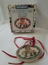 Longaberger 1997 Tie on Mothers Day