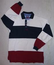 SLAM Genoa Italy Mens Long Sleeve HEAVYWEIGHT YACHT POLO SHIRT Size L
