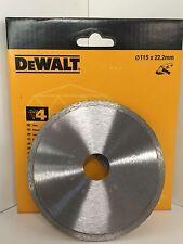 DEWALT DT3735 115MM X 22.2MM DIAMOND CUTTING DISC No4 TILES CERAMICS ETC