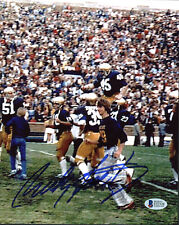 Notre Dame Rudy Ruettiger Authentic Signed 8x10 Vertical Photo Autographed BAS