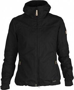 Fjäll Räven Stina Jacket Women Black G-1000 Outdoor Jacket for Ladies SIZE XS