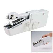 Portable House Handy Stitch Electric Mini Handheld Sewing Machine Gift White TB
