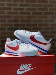 Nike Classic Cortez (Forest Gump) Leather Women's Red/White/Blue Sz 9 807471103