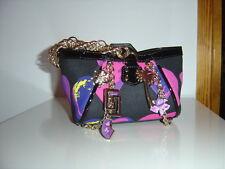 Versace for H&M kleine süße Tasche Designer Bag Lackleder Seide silk Herz
