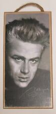 Wooden Plaque James Dean Black and White Wood Sign Classic Movie Star Actor