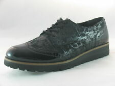 Womens Remonte R1911-02 Black Lace-up Shoes