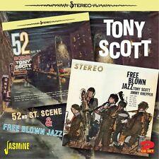 Tony Scott - 52nd St. Scene & Free Blown Jazz [New CD] UK - Import