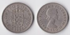 1962 Great Britain 1 shilling coin English version