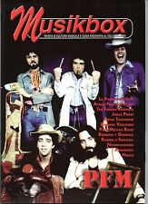 MUSIKBOX N 25 ANNO 2006 PFM PREMIATA FORNERIA MARCONI HI FI ACQUA FRAGILE