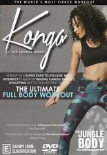 Konga Workout  - DVD - NEW Region 4