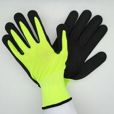 Garden Gloves Heavy Work duty Hand Protection Rubber Garden Builders Hansons